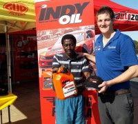Indy Oil customer at Autozone Gonubie store opening on 10 October 2016.jpeg