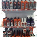 Indy Oil AutoZone Shelf Display