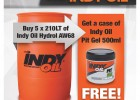 Incredible Offer from Indy Oil Industrial!