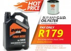 Massive Savings with Indy Oil!